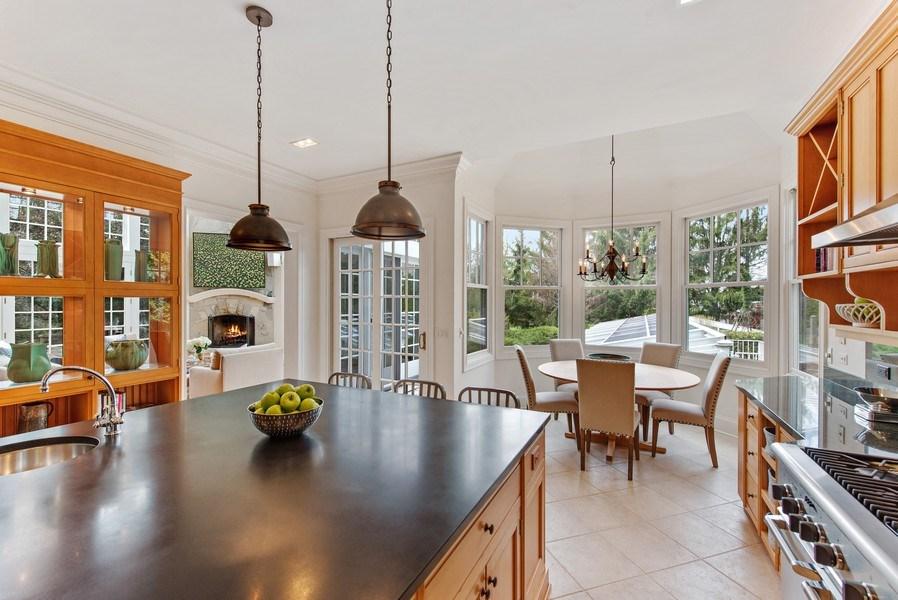 Real Estate Photography - 720 Rosewood, Winnetka, IL, 60093 - Kitchen / Breakfast Room