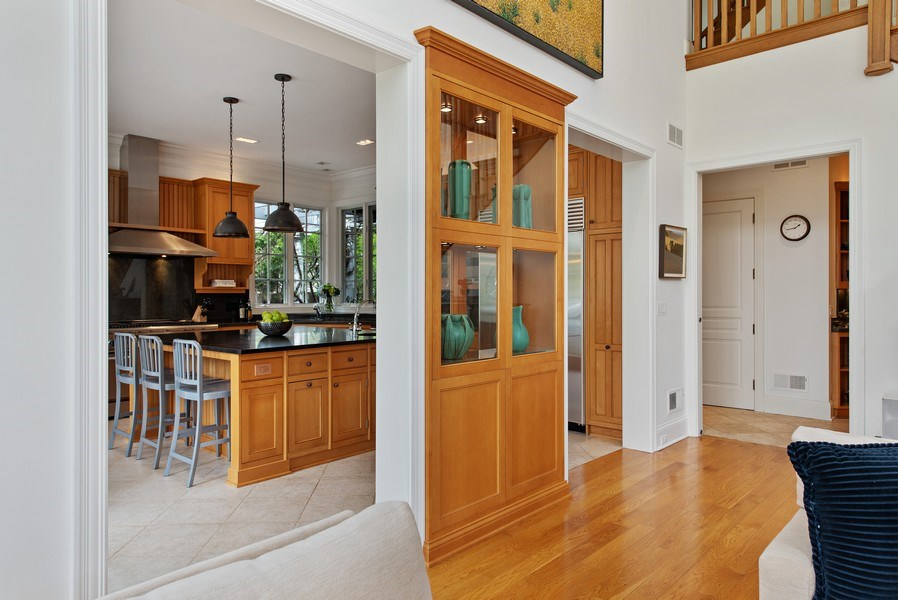 Real Estate Photography - 720 Rosewood, Winnetka, IL, 60093 - Great room