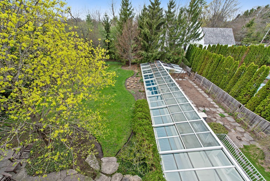 Real Estate Photography - 720 Rosewood, Winnetka, IL, 60093 - Back Yard