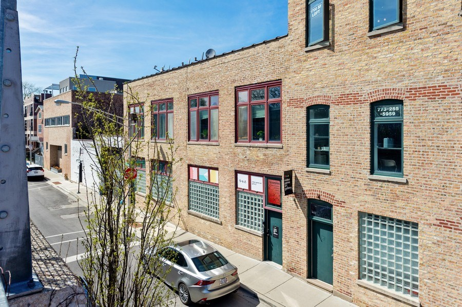 Real Estate Photography - 2418 W Bloomingdale Avenue, Unit 102, Chicago, IL, 60647 - Front View