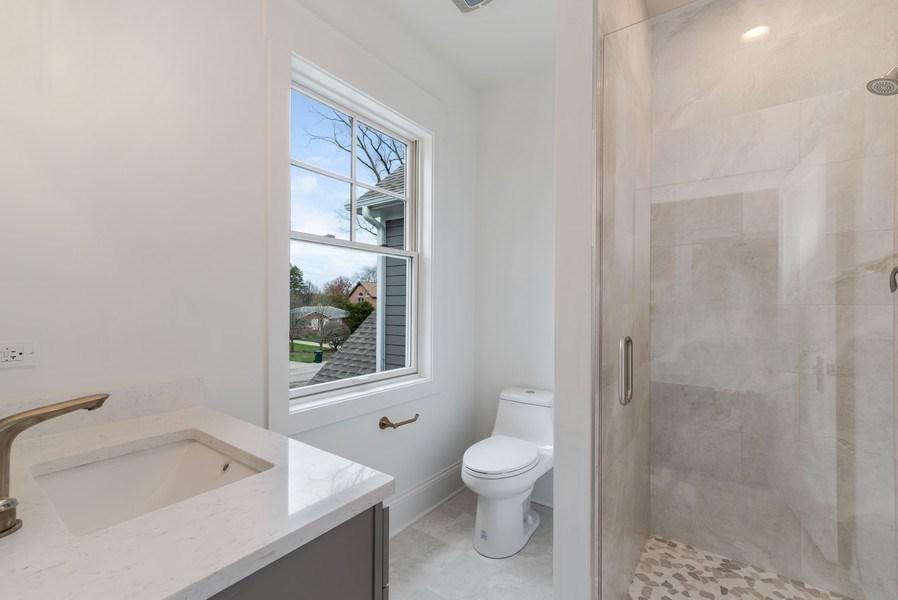 Real Estate Photography - 1110 Manor Dr, Wilmette, IL, 60091 - 4th Bathroom
