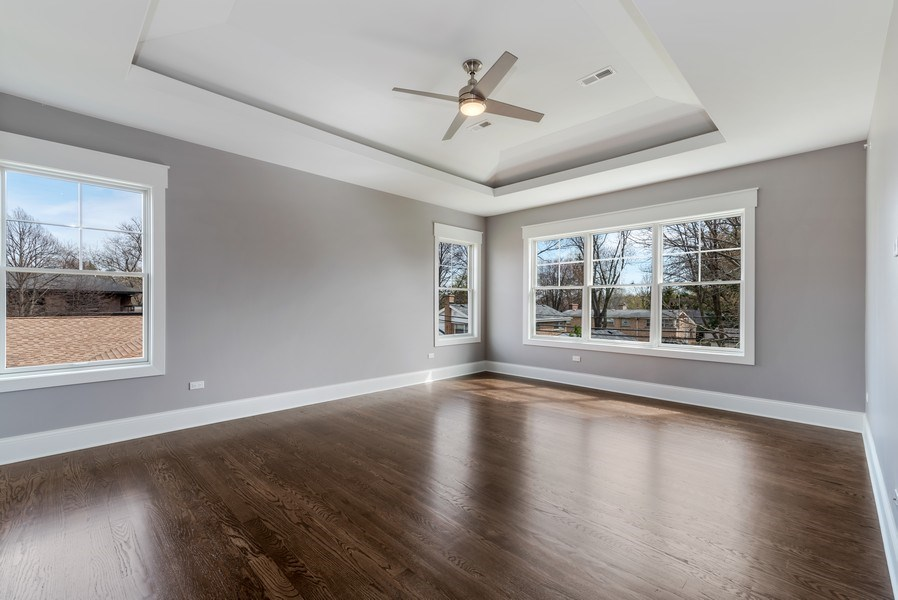 Real Estate Photography - 1110 Manor Dr, Wilmette, IL, 60091 - Master Bedroom