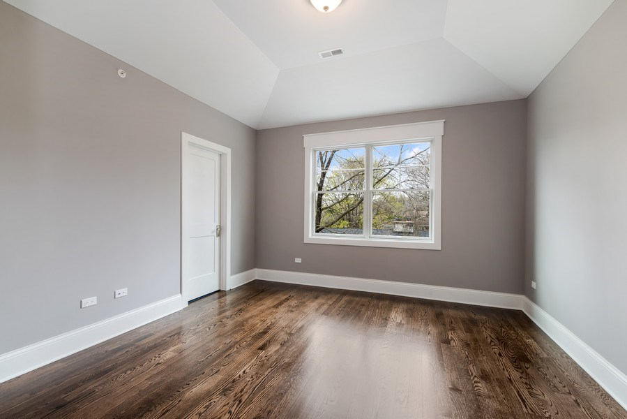 Real Estate Photography - 1110 Manor Dr, Wilmette, IL, 60091 - 3rd Bedroom