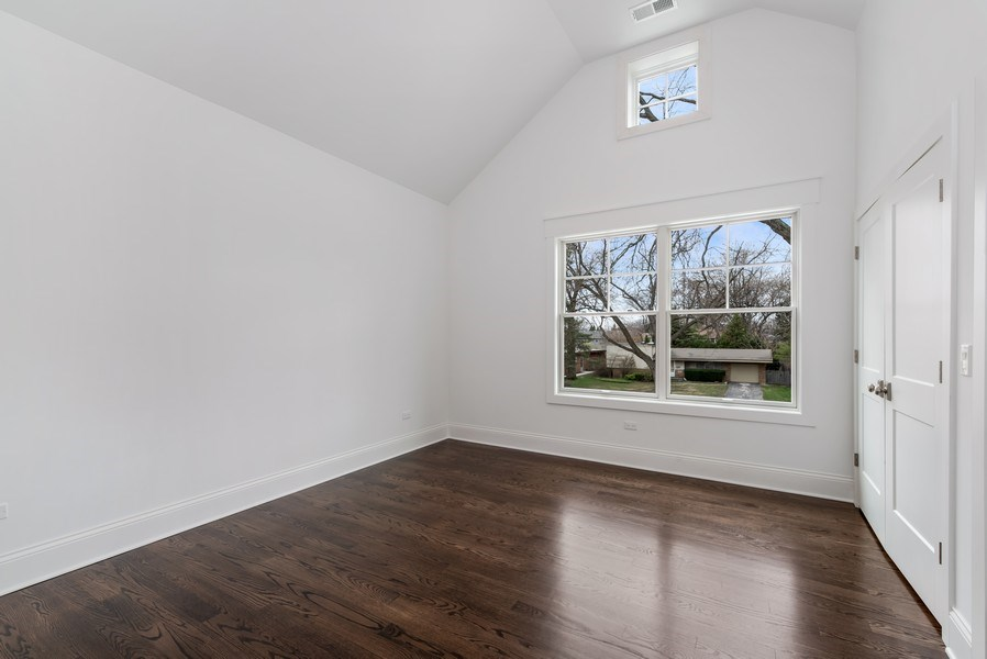 Real Estate Photography - 1110 Manor Dr, Wilmette, IL, 60091 - 4th Bedroom