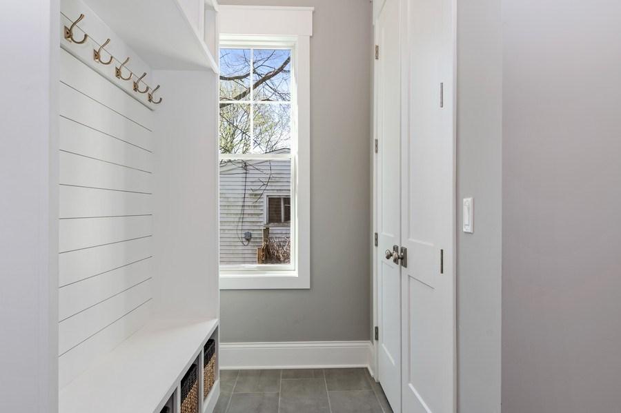Real Estate Photography - 1110 Manor Dr, Wilmette, IL, 60091 - Mudroom