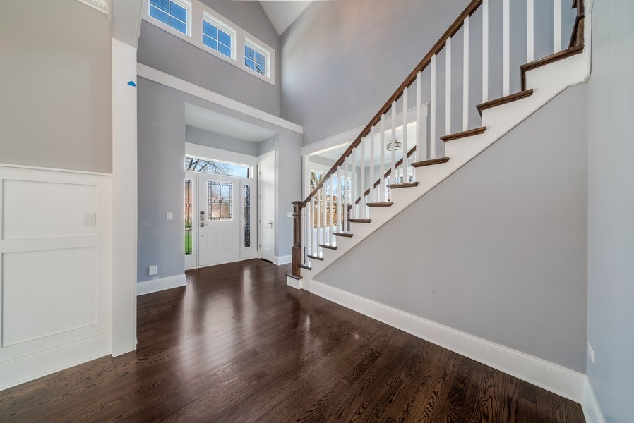 Real Estate Photography - 1110 Manor Dr, Wilmette, IL, 60091 - Foyer