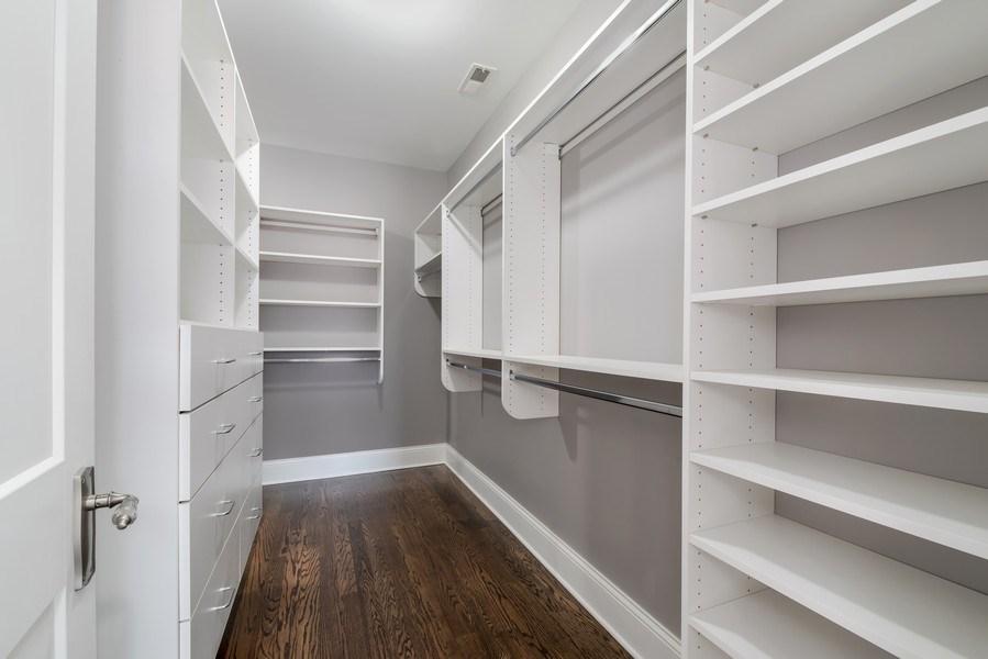 Real Estate Photography - 1110 Manor Dr, Wilmette, IL, 60091 - Closet