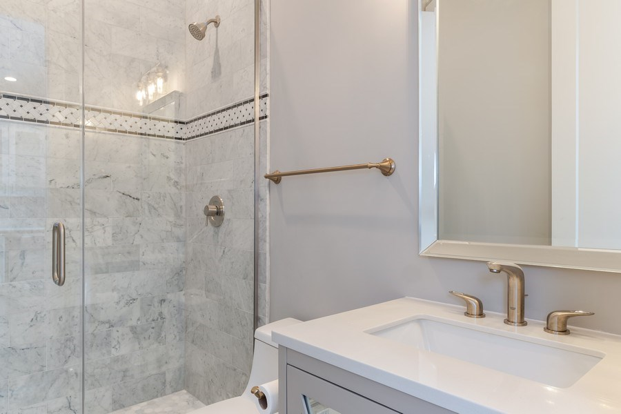 Real Estate Photography - 1110 Manor Dr, Wilmette, IL, 60091 - Bathroom