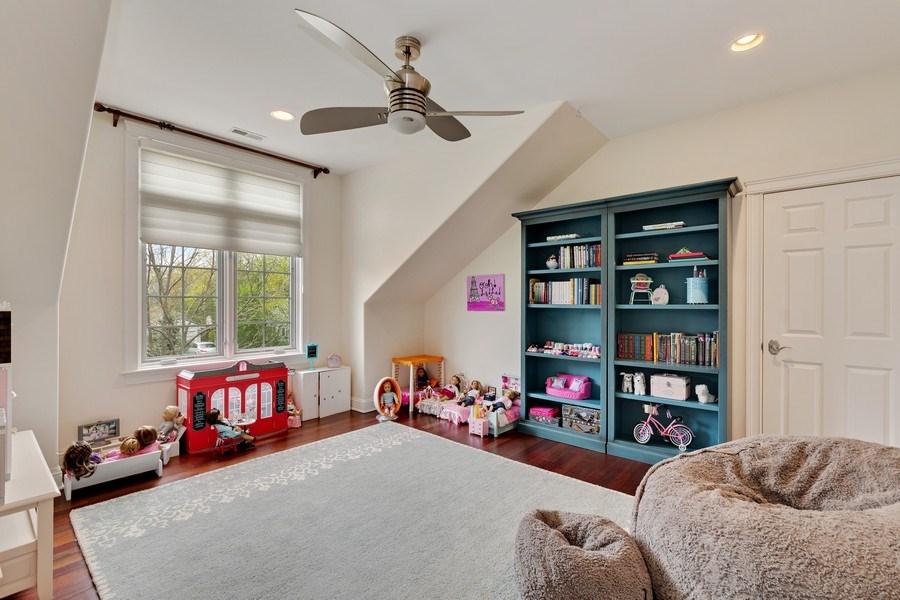 Real Estate Photography - 323 Thackeray, Northfield, IL, 60093 - 4th Bedroom
