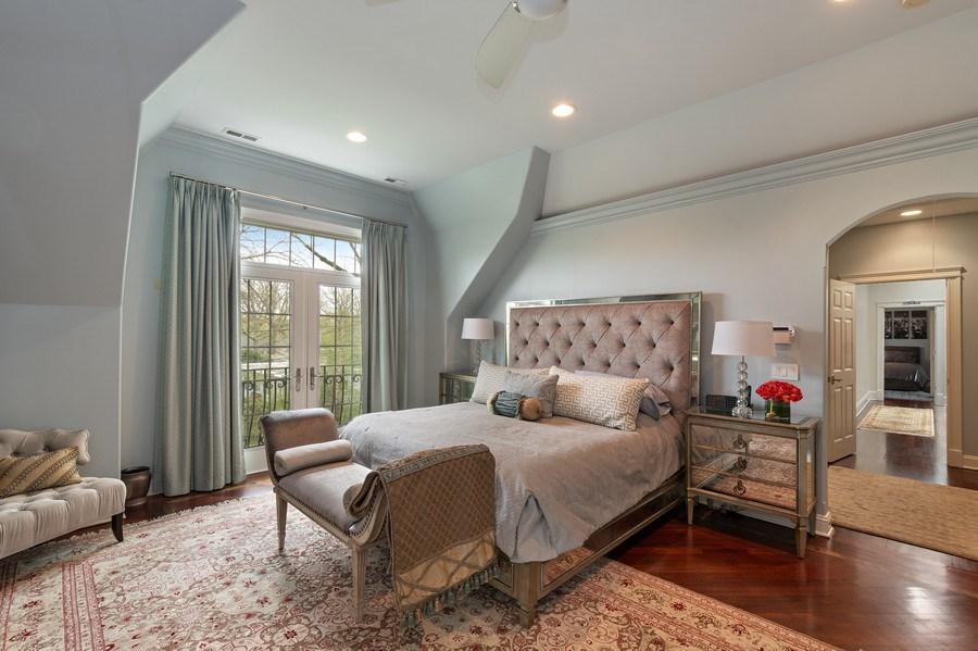 Real Estate Photography - 323 Thackeray, Northfield, IL, 60093 - Master Bedroom