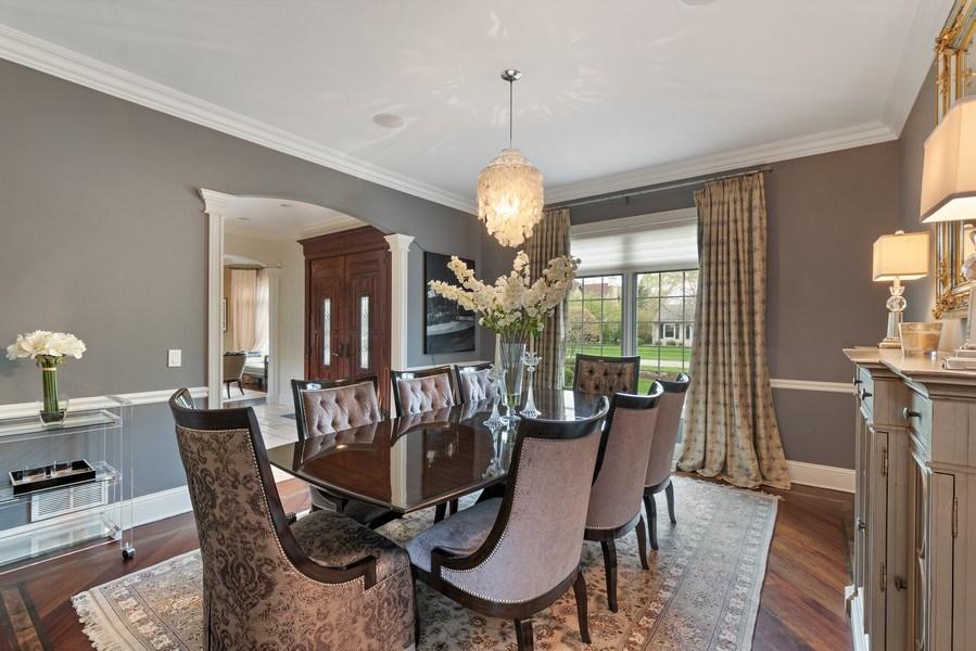 Real Estate Photography - 323 Thackeray, Northfield, IL, 60093 - Dining Room