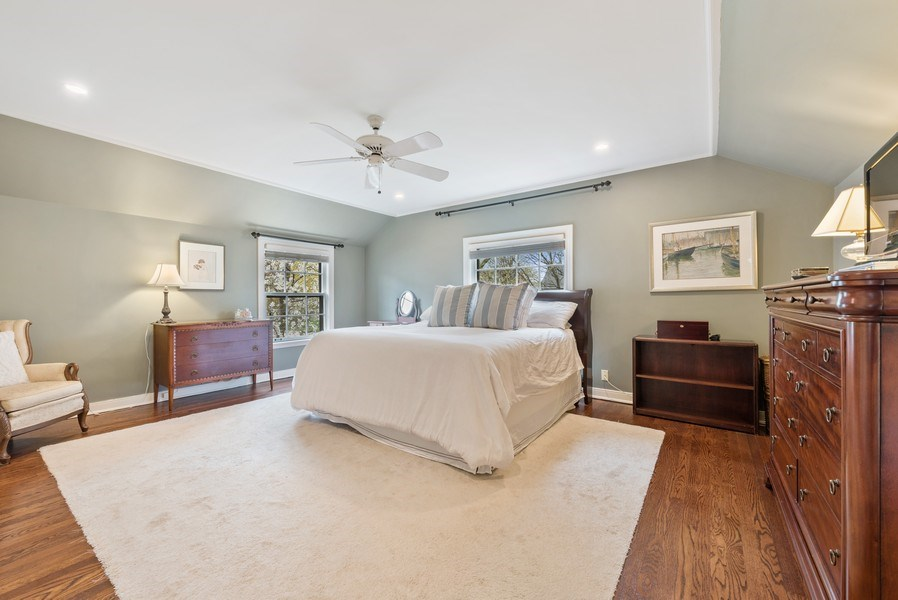Real Estate Photography - 1156 Cherry, Winnetka, IL, 60093 - Master Bedroom