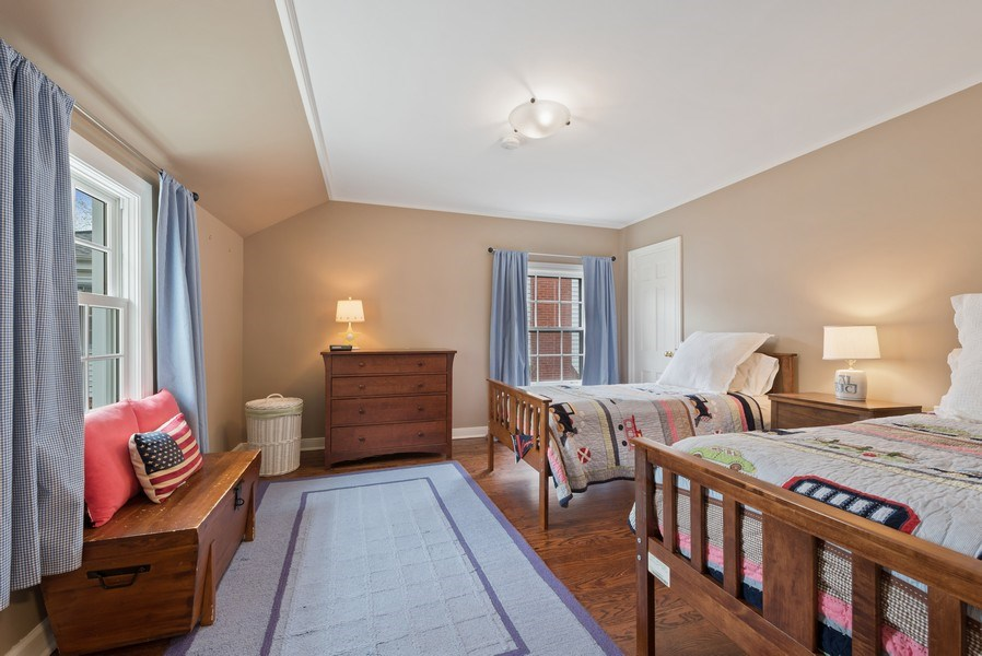 Real Estate Photography - 1156 Cherry, Winnetka, IL, 60093 - 3rd Bedroom
