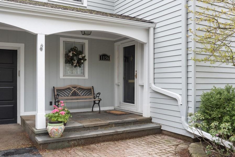 Real Estate Photography - 1156 Cherry, Winnetka, IL, 60093 - Entrance