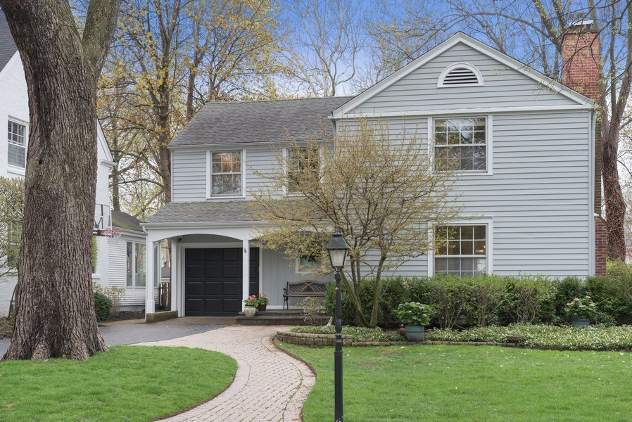 Real Estate Photography - 1156 Cherry, Winnetka, IL, 60093 - Front View