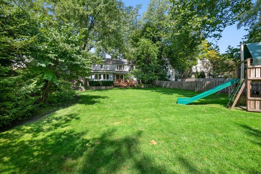 Real Estate Photography - 1156 Cherry, Winnetka, IL, 60093 - Rear View