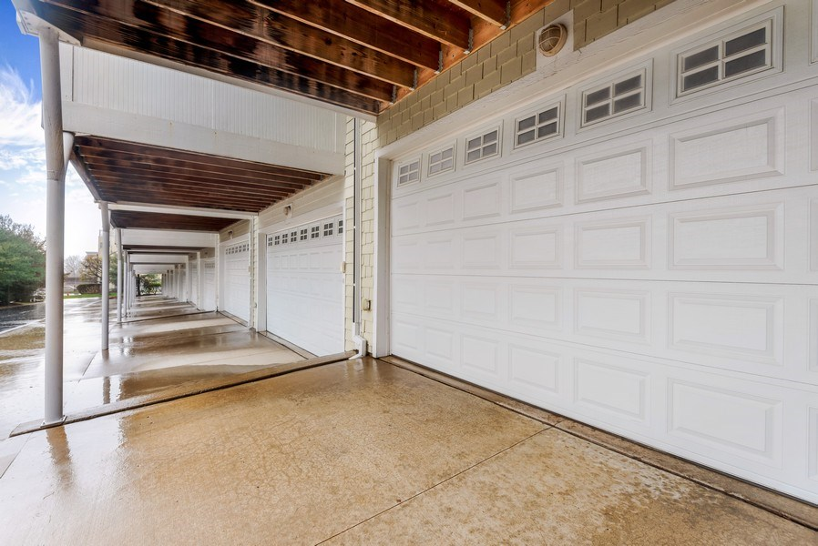 Real Estate Photography - 107 N Thompson St, New Buffalo, MI, 49117 - Garage
