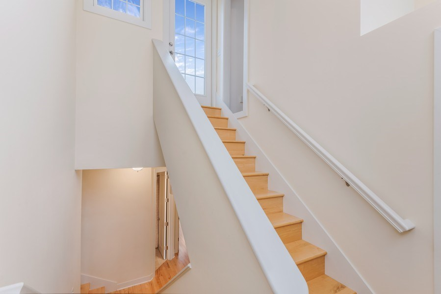 Real Estate Photography - 107 N Thompson St, New Buffalo, MI, 49117 - Staircase