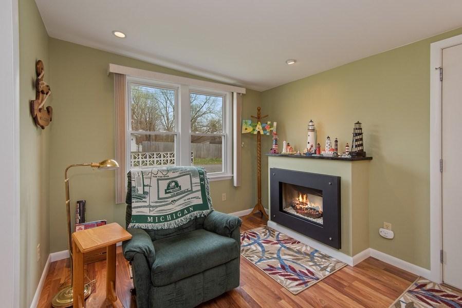 Real Estate Photography - 6446 W Hagar Shore Rd, Coloma, MI, 49038 - Sitting Room