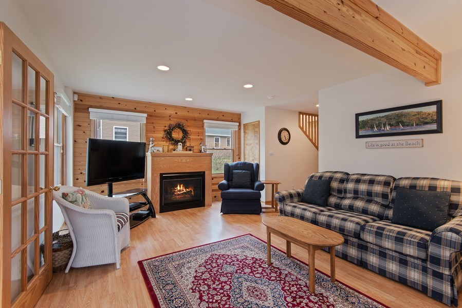 Real Estate Photography - 6446 W Hagar Shore Rd, Coloma, MI, 49038 - Family Room