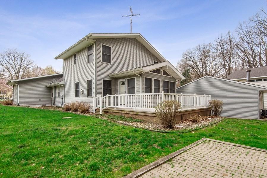 Real Estate Photography - 6446 W Hagar Shore Rd, Coloma, MI, 49038 - Rear View