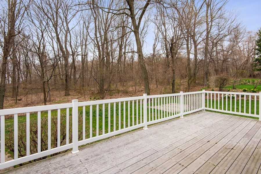 Real Estate Photography - 6446 W Hagar Shore Rd, Coloma, MI, 49038 - Deck