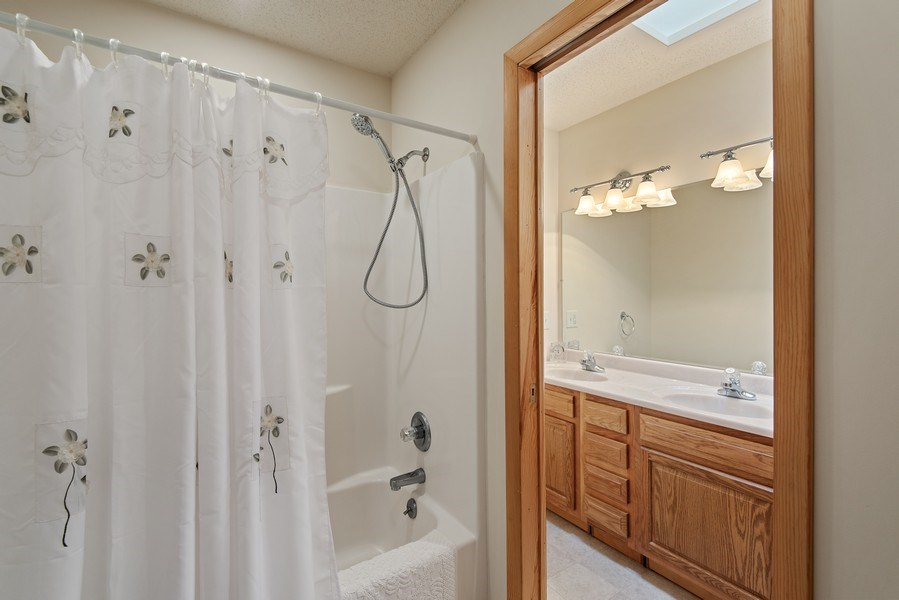 Real Estate Photography - 6446 W Hagar Shore Rd, Coloma, MI, 49038 - 2nd Bathroom