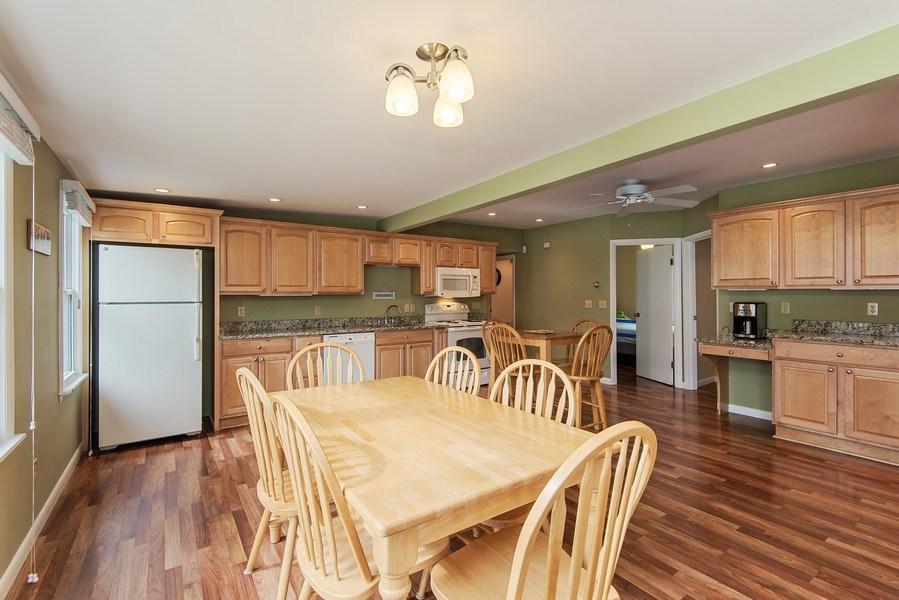 Real Estate Photography - 6446 W Hagar Shore Rd, Coloma, MI, 49038 - Kitchen / Dining Room