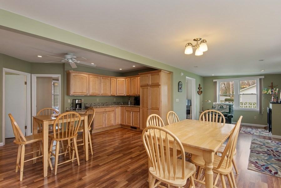 Real Estate Photography - 6446 W Hagar Shore Rd, Coloma, MI, 49038 - Kitchen/Dining