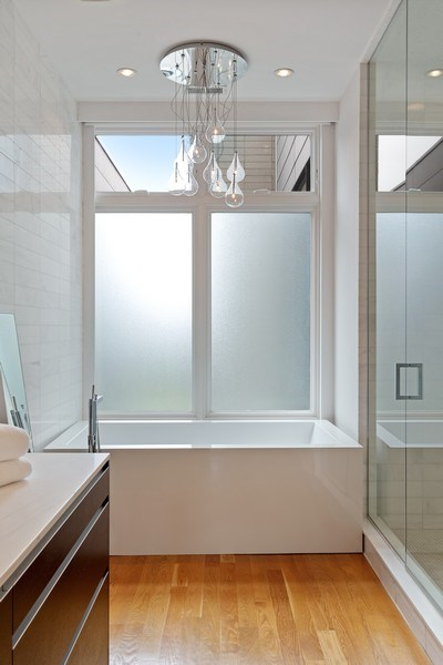 Real Estate Photography - 1627 N Wolcott, Chicago, IL, 60622 - Master Bathroom