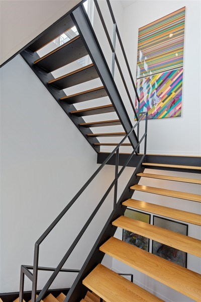 Real Estate Photography - 1627 N Wolcott, Chicago, IL, 60622 - Staircase