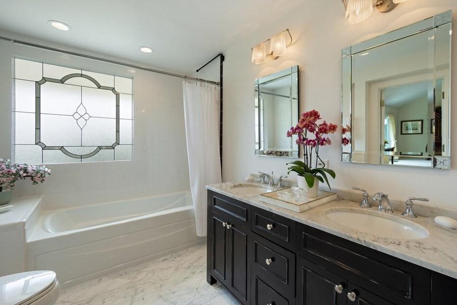 Real Estate Photography - 306 Ridge Road, Barrington Hills, IL, 60010 - Master Bathroom