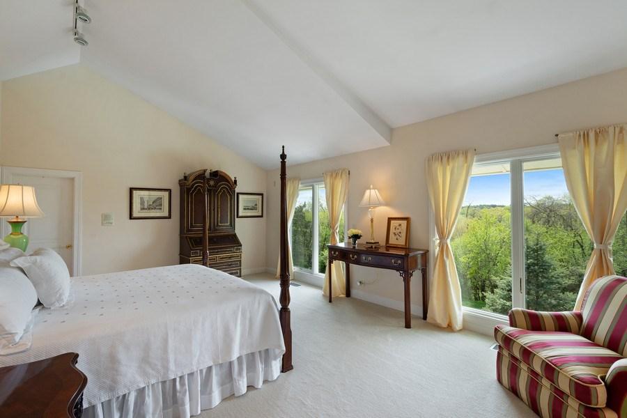 Real Estate Photography - 306 Ridge Road, Barrington Hills, IL, 60010 - Master Bedroom