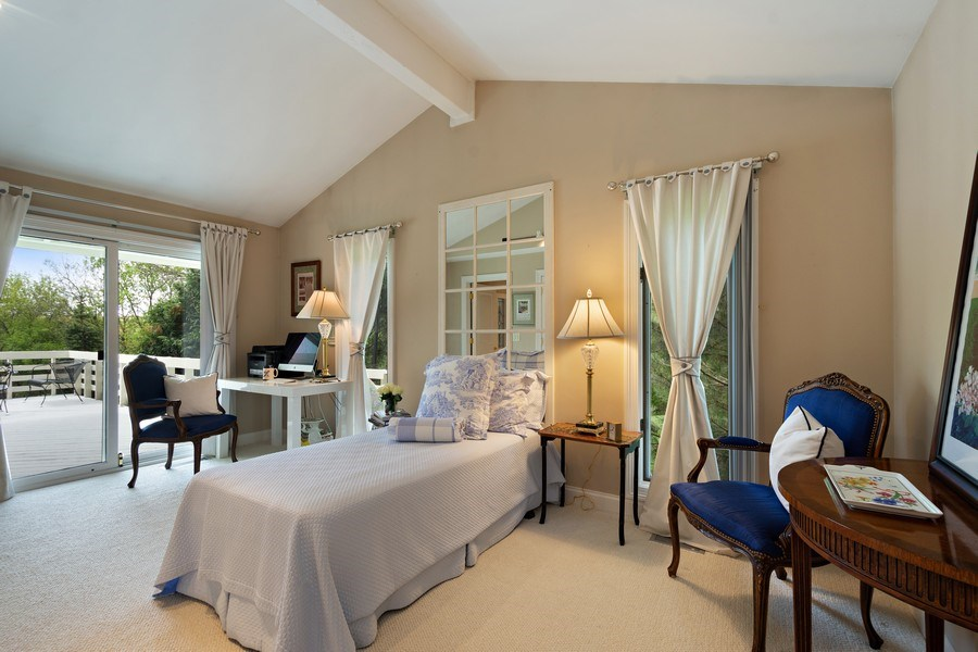 Real Estate Photography - 306 Ridge Road, Barrington Hills, IL, 60010 - Fourth Bedroom