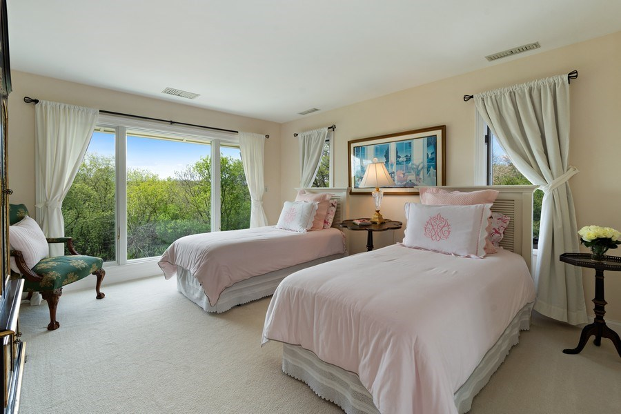 Real Estate Photography - 306 Ridge Road, Barrington Hills, IL, 60010 - Third Bedroom