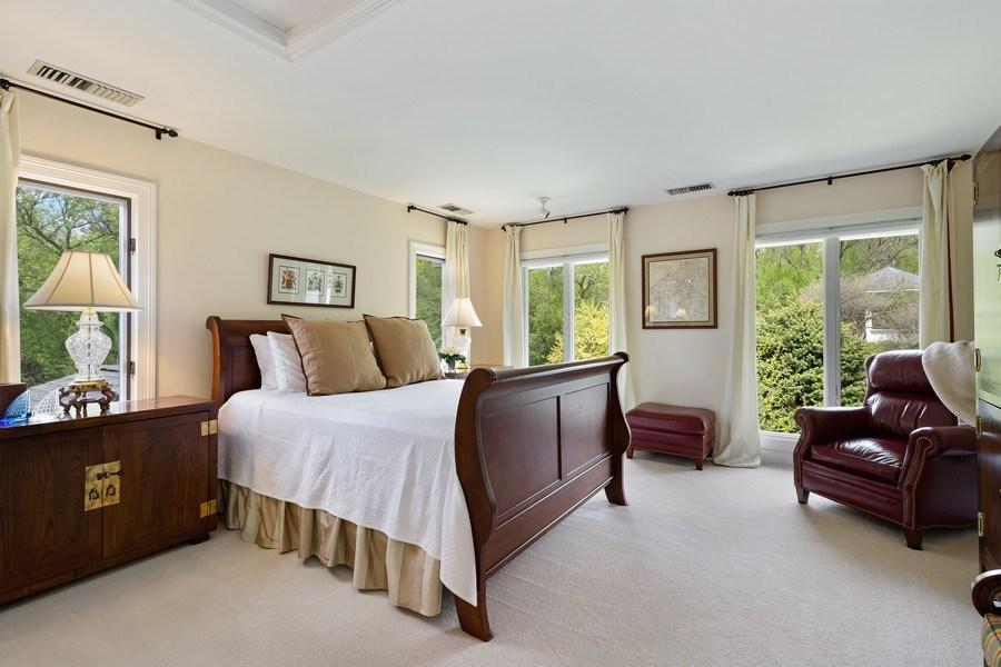 Real Estate Photography - 306 Ridge Road, Barrington Hills, IL, 60010 - Second Bedroom