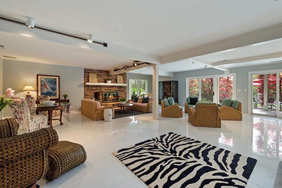 Real Estate Photography - 306 Ridge Road, Barrington Hills, IL, 60010 - Family Room