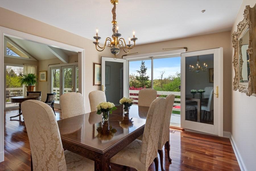 Real Estate Photography - 306 Ridge Road, Barrington Hills, IL, 60010 - Dining Room
