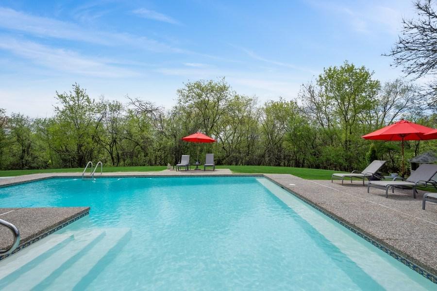 Real Estate Photography - 306 Ridge Road, Barrington Hills, IL, 60010 - Pool
