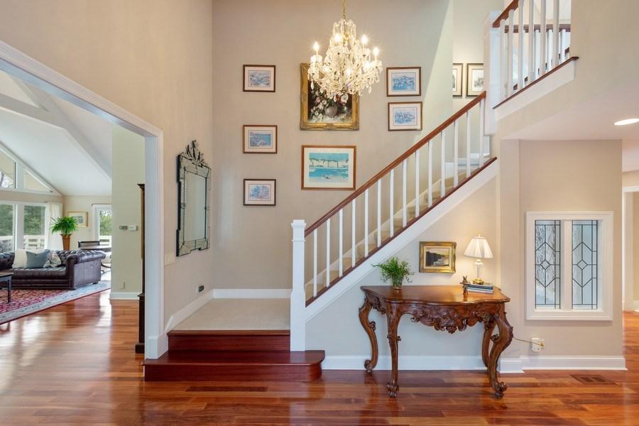 Real Estate Photography - 306 Ridge Road, Barrington Hills, IL, 60010 - Foyer