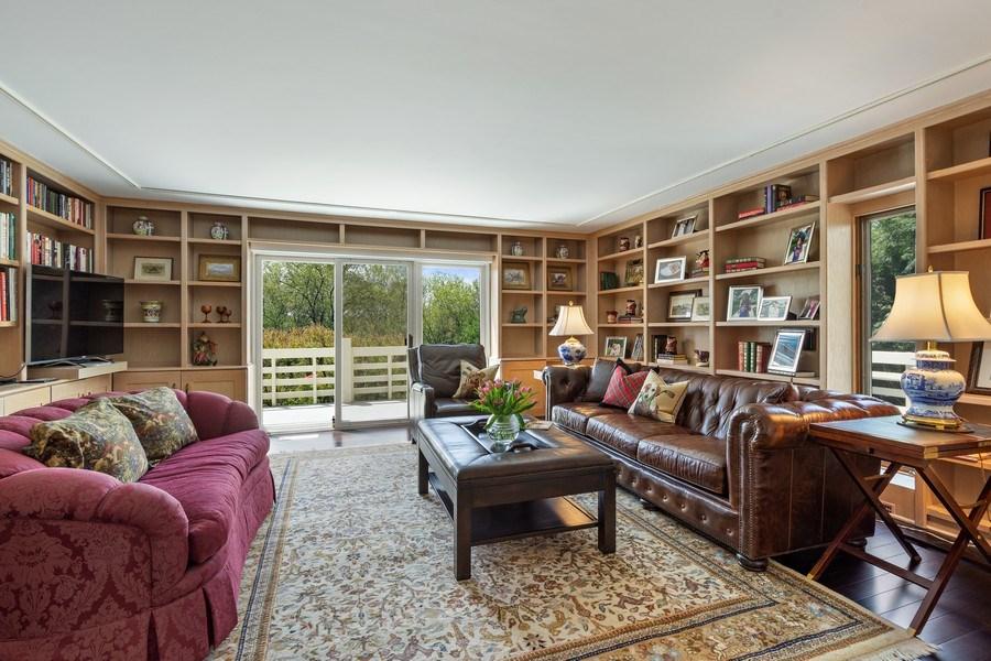 Real Estate Photography - 306 Ridge Road, Barrington Hills, IL, 60010 - Library