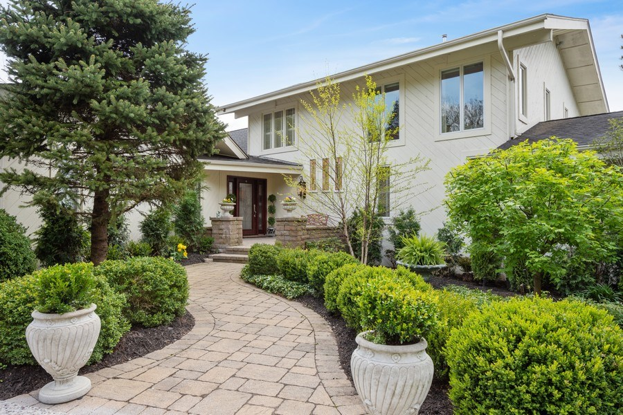 Real Estate Photography - 306 Ridge Road, Barrington Hills, IL, 60010 - Front View