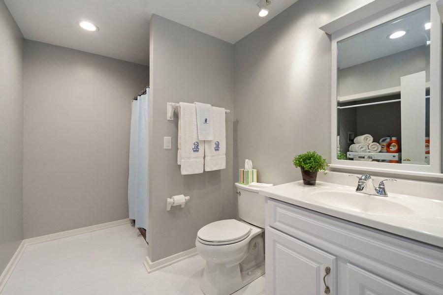 Real Estate Photography - 306 Ridge Road, Barrington Hills, IL, 60010 - Lower Level Bathroom