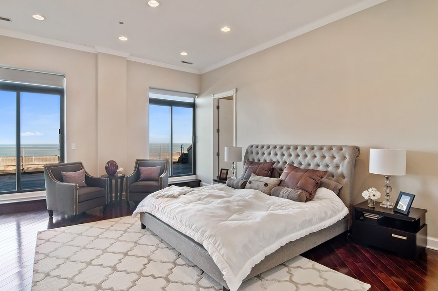 Real Estate Photography - 910 S Michigan, #1903, Chicago, IL, 60605 - Master Bedroom