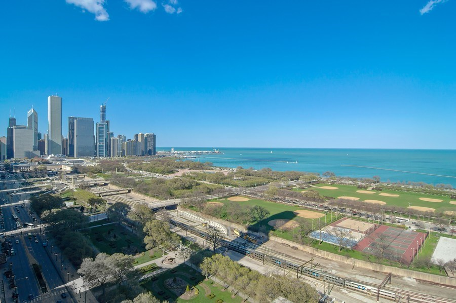 Real Estate Photography - 910 S Michigan, #1903, Chicago, IL, 60605 - View