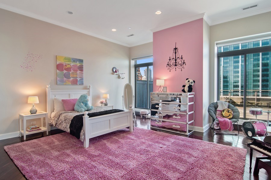 Real Estate Photography - 910 S Michigan, #1903, Chicago, IL, 60605 - 2nd Bedroom