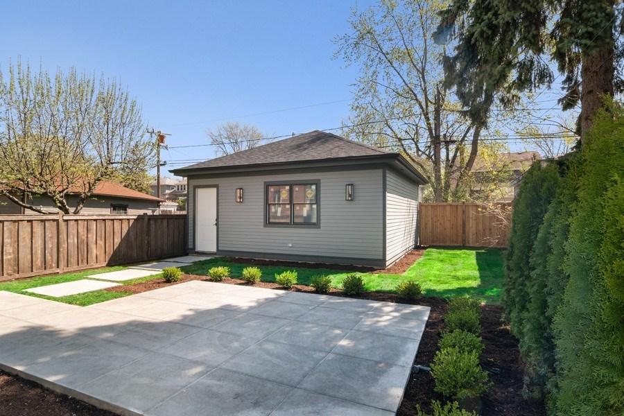 Real Estate Photography - 1114 South Scoville Avenue, Oak Park, IL, 60304 - Back Yard