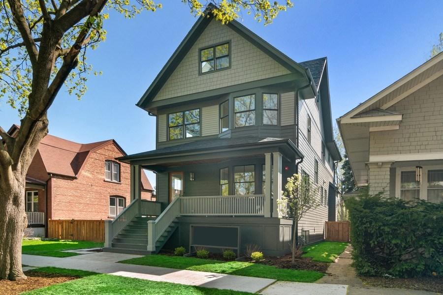 Real Estate Photography - 1114 South Scoville Avenue, Oak Park, IL, 60304 - Front View