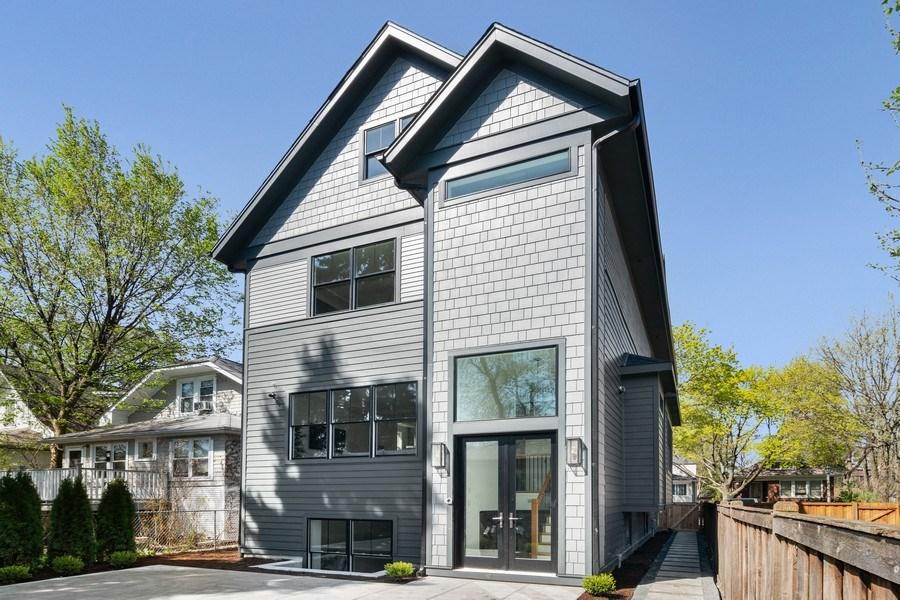 Real Estate Photography - 1114 South Scoville Avenue, Oak Park, IL, 60304 - Rear View