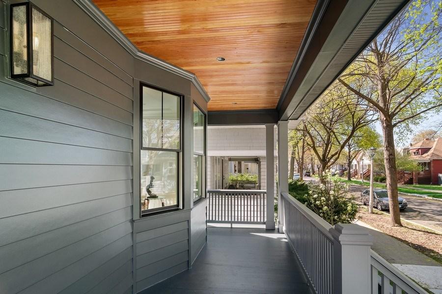 Real Estate Photography - 1114 South Scoville Avenue, Oak Park, IL, 60304 - Porch